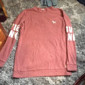 Size small pink vs sweatshirt